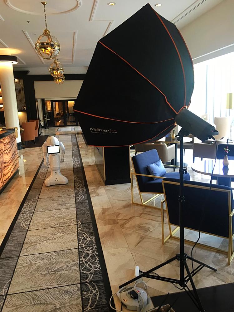 Hotel Werbe Shooting