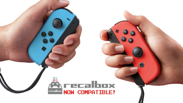 JoyCon Compatibles Recalbox
