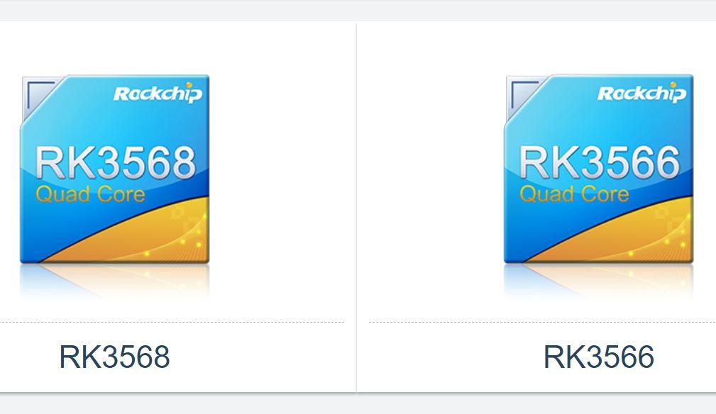 Rockchip RK3568 & RK3566 : 2 SoC concurrents des Amlogic S905X3 et S905X4