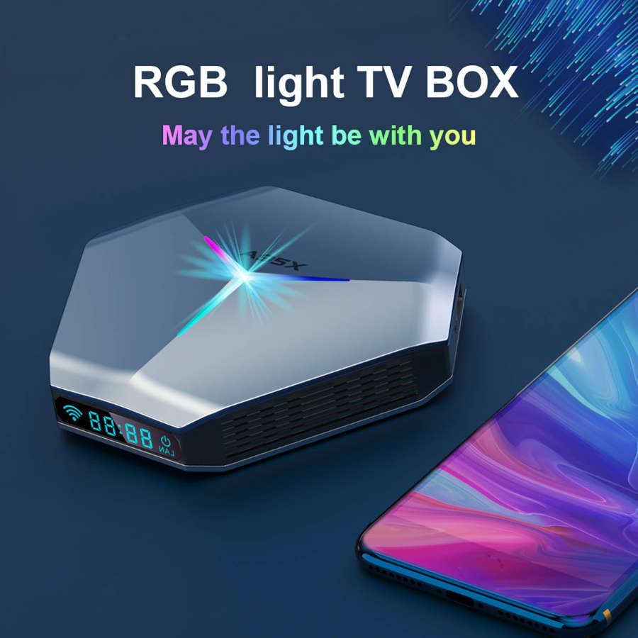 Mise à jour de la nouvelle box A95X F4 vers le firmware du 26-04-2021
