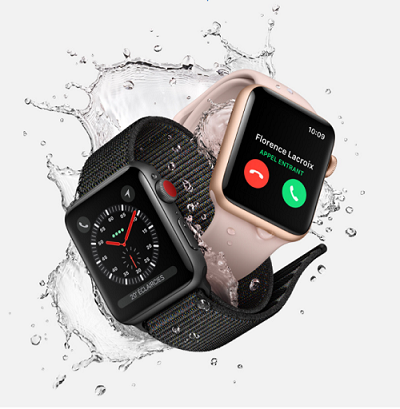 montre connectée Apple Watch Series 3