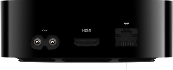 Apple TV 4K 2021 connectique