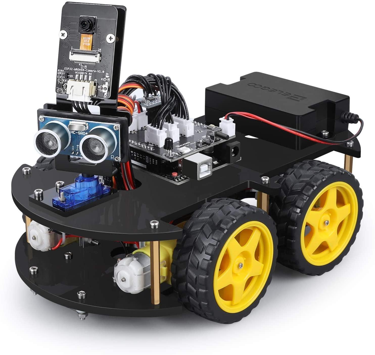 Montage & test du robot voiture intelligente V4.0 avec Caméra de la marque Elegoo