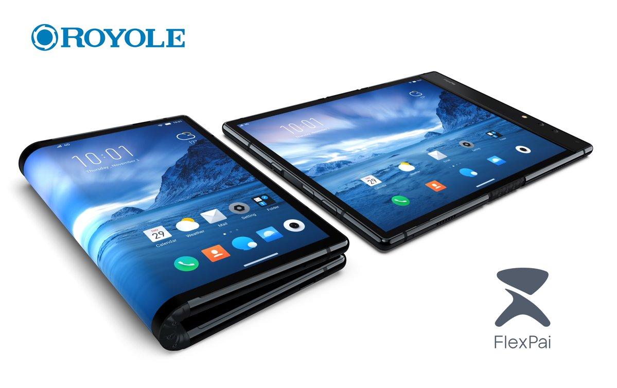 FlexPai : le premier smartphone à écran pliable a été présenté