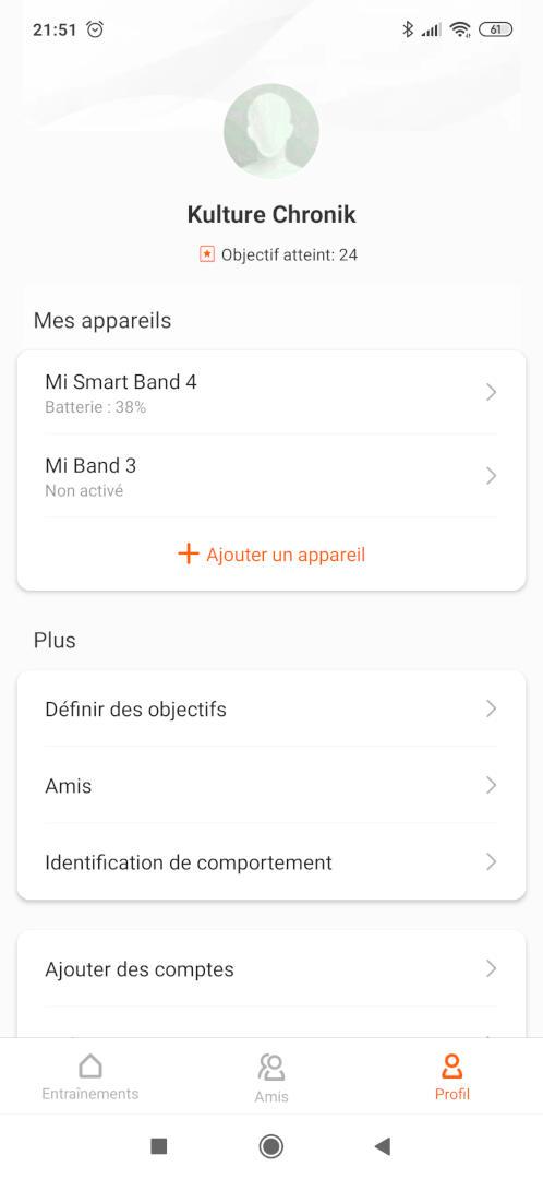 Xiaomi Mi Fit Mi Smart Band 4