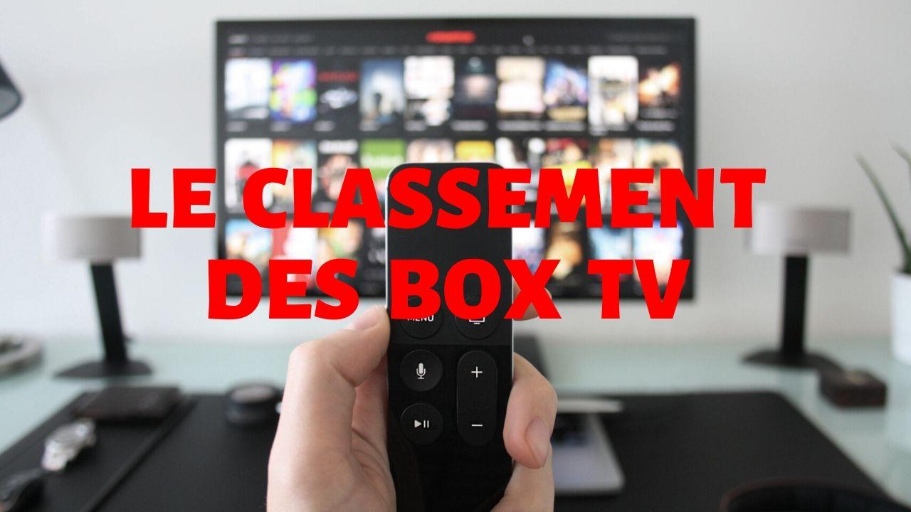 Classement des box TV antutu geekbench 3DMark lecture 4K