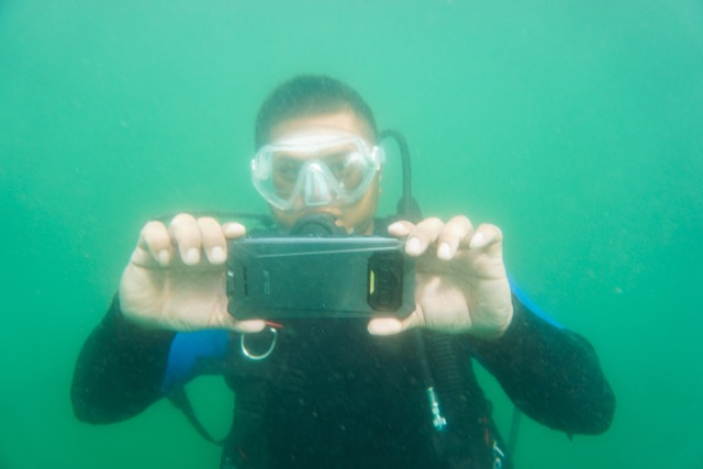 iiiF150 R2022 sous l'eau