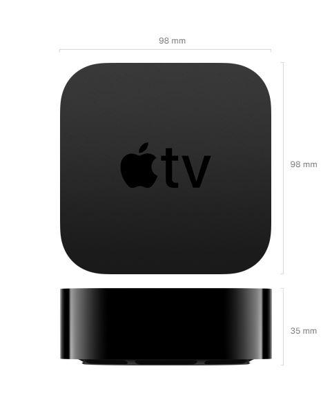 Apple TV 4K 2021 design et dimensions