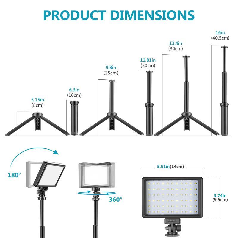 Kit Neewer LED USB