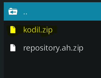 Installer dépôt Kodil sur Kodi
