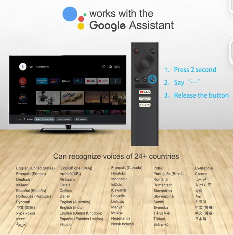 Mecool KM1 Google Assistant