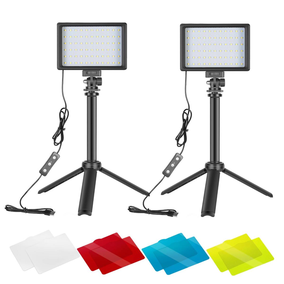 Test kit Neewer Mini Panneaux LED USB : Eclaire tes streams et unboxing à moindre coût