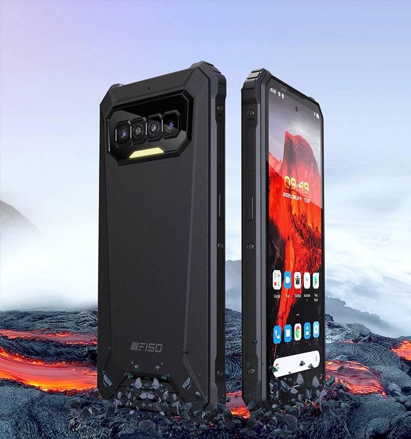 iiiF150 R2022 : un smartphone robuste et endurant avec vision nocturne
