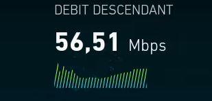 Débit WiFi Magicsee n5 nova