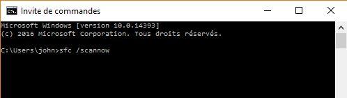 Windows CMD invite de commande