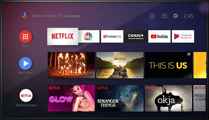 Android TV : comment changer d'interface (launcher)
