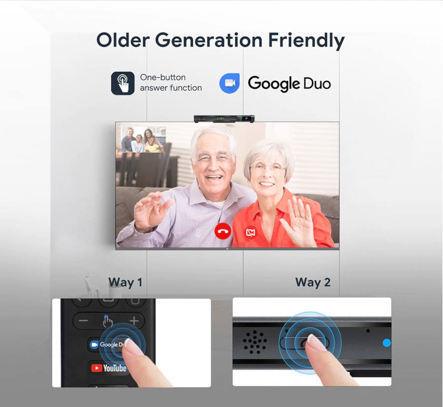 Mecool Now Google Duo