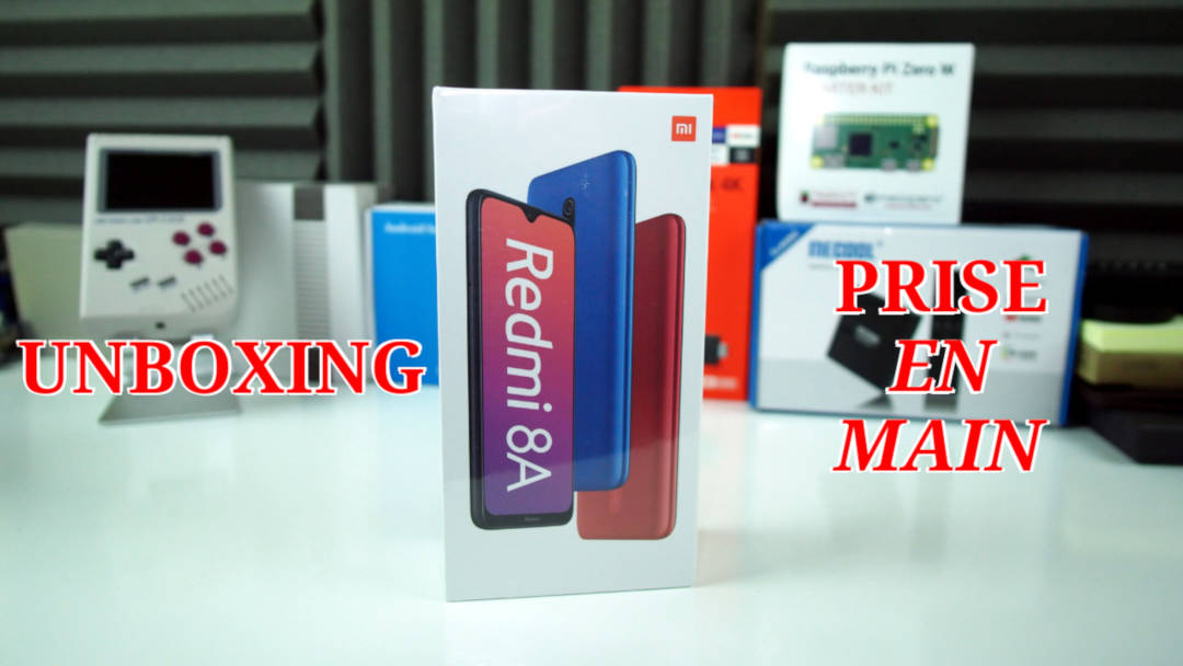Unboxing et prise en main du Redmi 8A : le lowcost de chez Xiaomi
