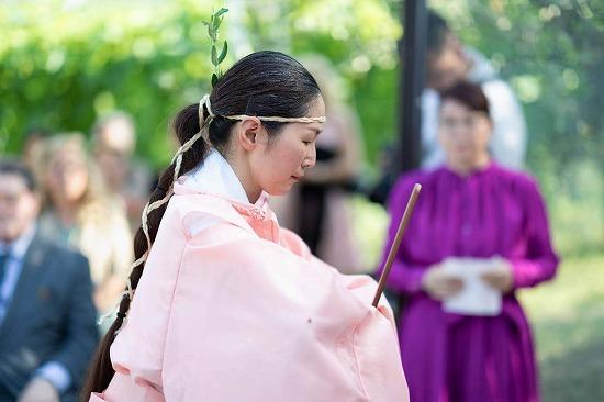平松天神社 令和3年6月27日 夏越の祓