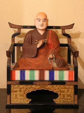 阿弥陀堂の弘法大師像