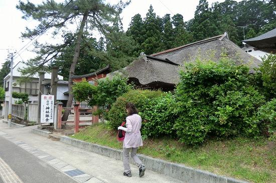 宿坊・神林勝金と八坂神社