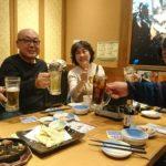 新潟中医薬研究会の2018年11月例会の懇親会