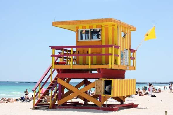 Rettungsschwimmerhäuschen (Miami Beach)