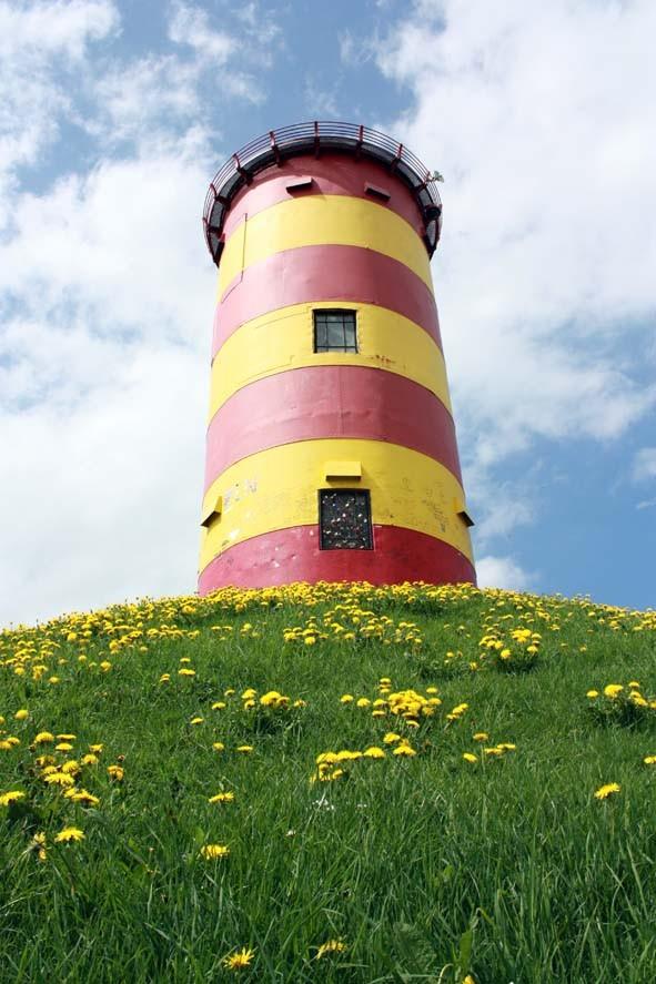 Leuchtturm, Pilsum (Deutschland)