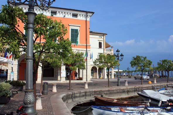 Gargnano Hafen - Italien