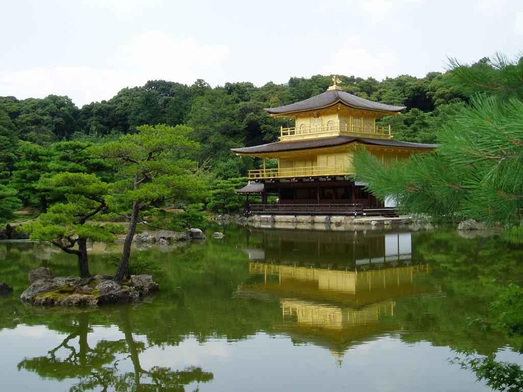 Kinkaku Ji (goldener Pavillion in Kyoto) - Japan