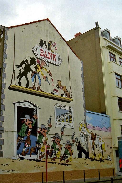Fassadenmalerei (Brüssel)