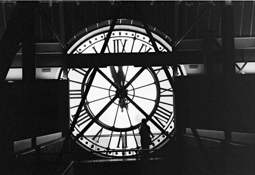 Uhr im Musee d'Orsay - Paris