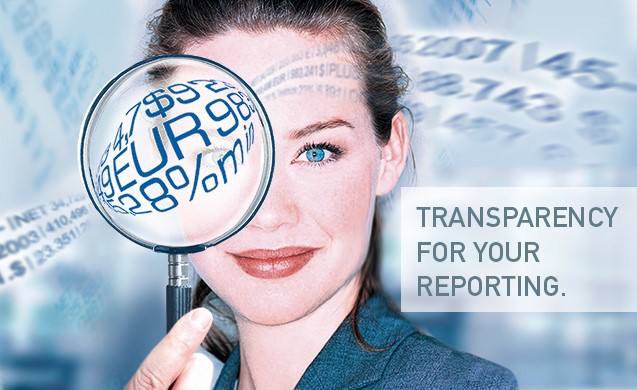 make your reporting more transparent