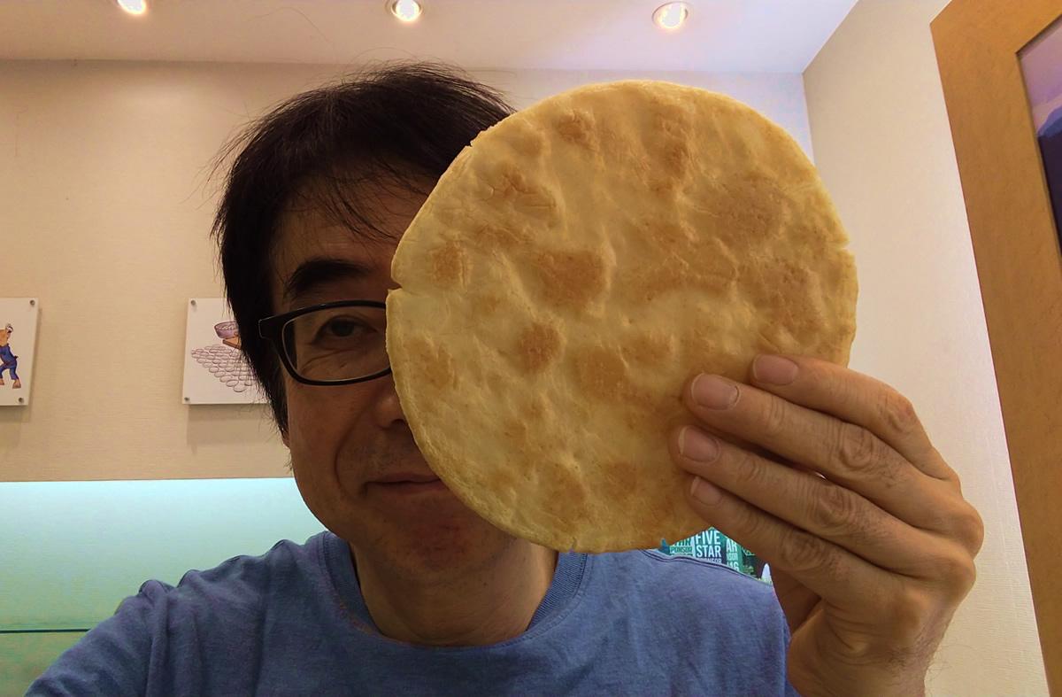 今日のおせんべい 大判丸醤油