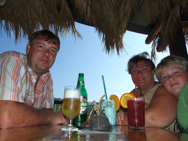 .... in Jimmys Bar......