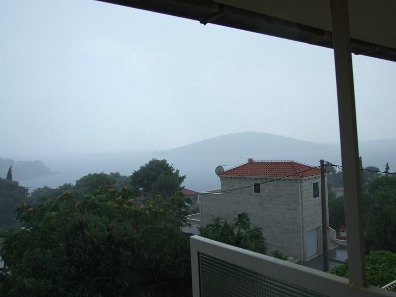 Ausblick von unserem Balkon.....