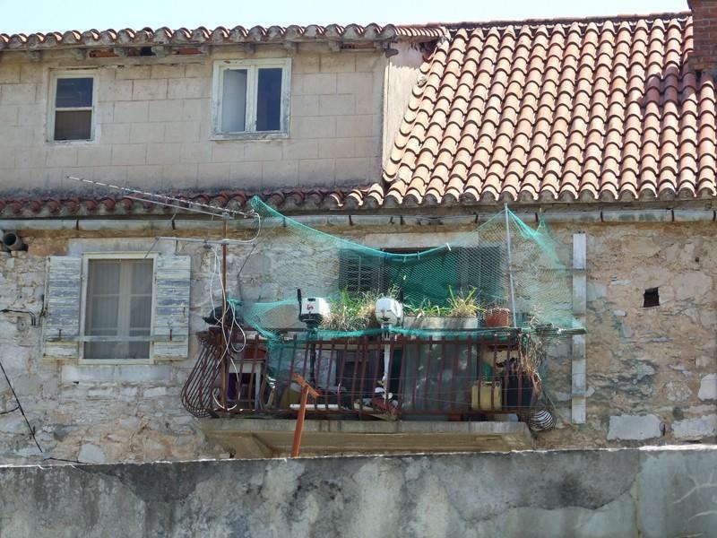 der motorisierte Balkon......