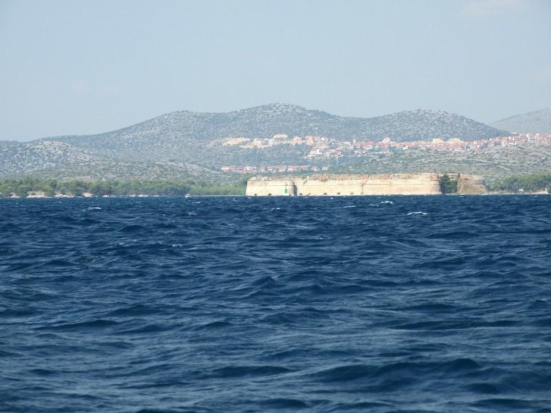 Festung an der Krka-Mündung