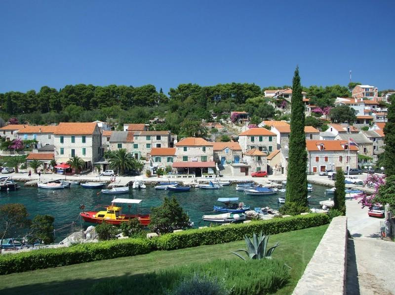 Maslinica Hafen