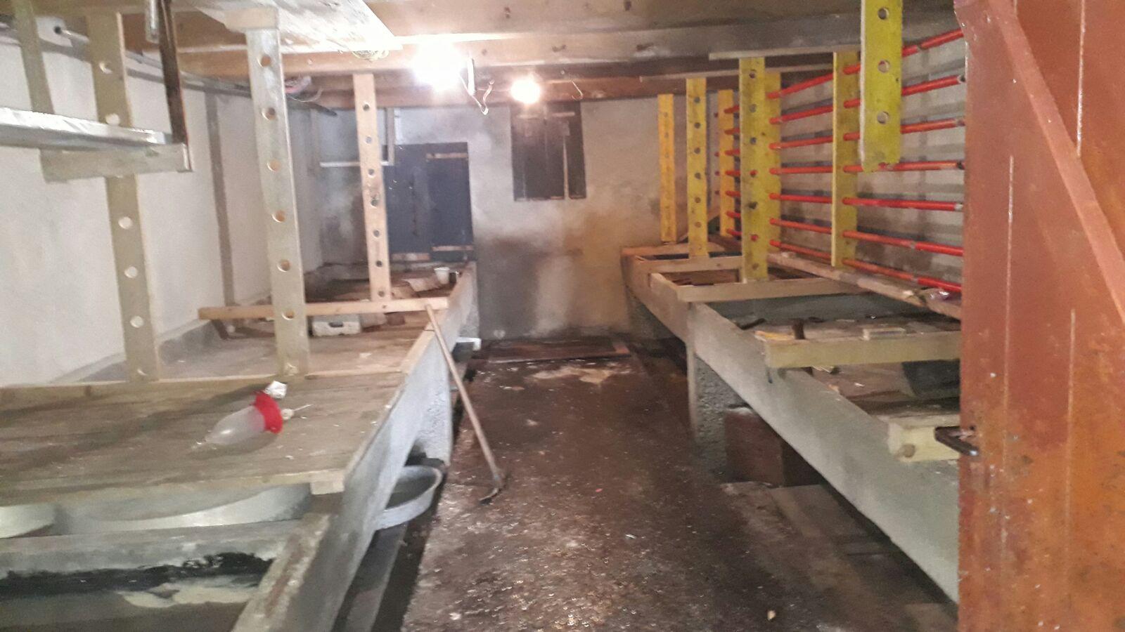 So sah der Keller bis im Jahr 2017 aus, bevor er umgebaut wurde.