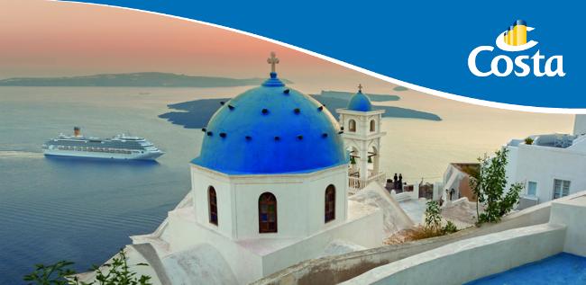 Costa Schnäppchen Kreuzfahrten Griechenland Angebote Griechische Inseln April, Mai & Juni ab Venedig bei Reiselotsen cruise & tours buchen