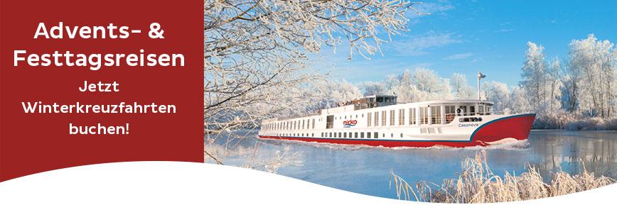 Christmas Shopping Wien Budapest Amsterdam während Ihrer Advents-Flusskreuzfahrt zu Weihnachtsmärkten. Festtagsreisen zu Weihnachten auf Rhein & Donau