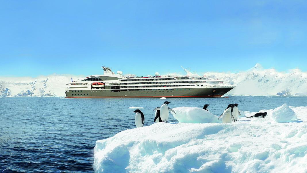 Antarktis Expeditionsreisen mit Ponant Yachtkreuzfahrten ab Argentinien Buenos Aires mit Flug