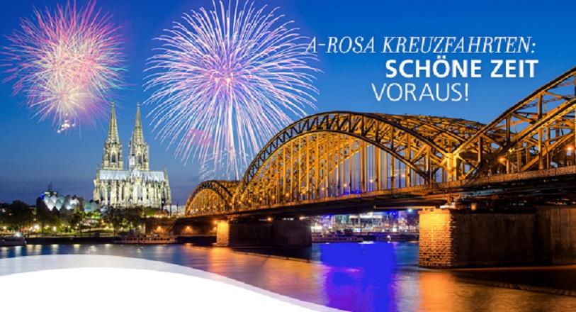 A-Rosa Flusskreuzfahrten zum Advent-, Weihnachten mit Weihnachtsmärkten auf Donau, Rhein, Main, Rhone November Dezember 2018