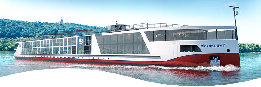 Nicko Cruises Flusskreuzfahrten auf dem Rhein, Main und Mosel, Rheinfahrten mit Ultra Frühbucher-Ermässigungen 2021
