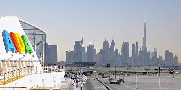 AIDA Kreuzfahrten Vereinigte Arabische Emirate ab Dubai Abu Dhabi mit Badeaufenthalt & Flug -  AIDA Orient Kreuzfahrten mit MSC, Costa, TUI Cruises günstige Vario Angebote & Kombiurlaub hieronline  buchen