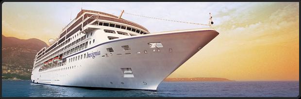 Luxus Kreuzfahrten Schnäppchen mit Insignia günstig buchen