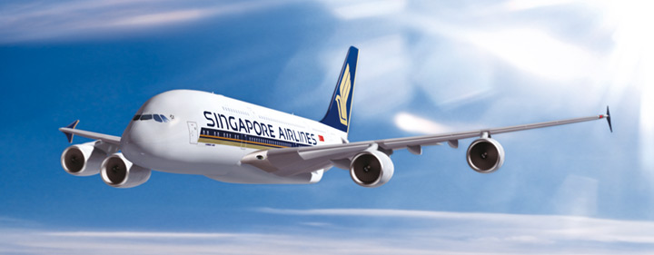 Weltreise mit Airbus A380 Singapore Airlines Flug (c) Singapore Airlines