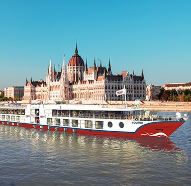 Flussfahrt Nicko Cruises mit MS Bolero Donaukreuzfahrt