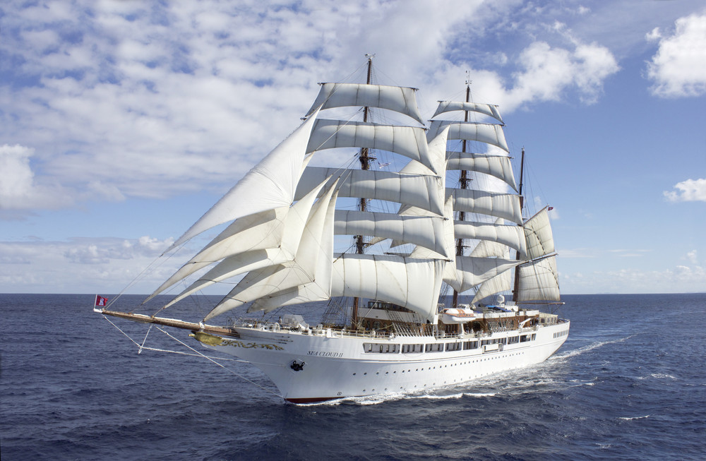Segelurlaub Karibik mit Segelkreuzfahrten SY Sea Cloud II hier mit Tipps vom Kreuzfahrtberater Olaf Diroll Specials buchen